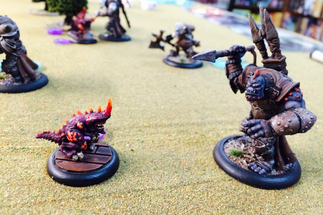 Warmachine/Hordes: From Large Battles to Intro Games