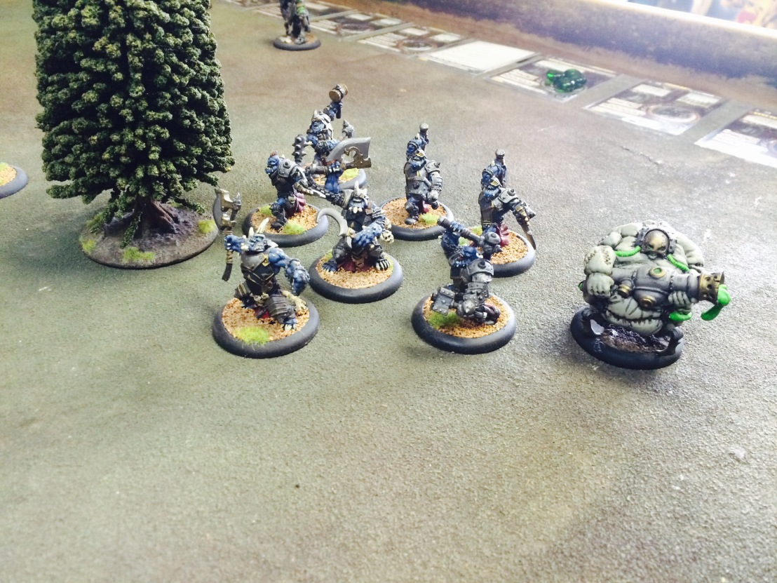 Warmachine/Hordes: The Dead and theCold