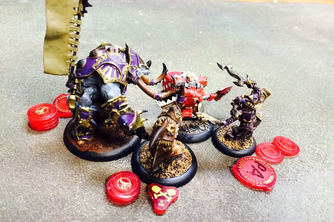 Warmachine/Hordes: Butchering the Butcher