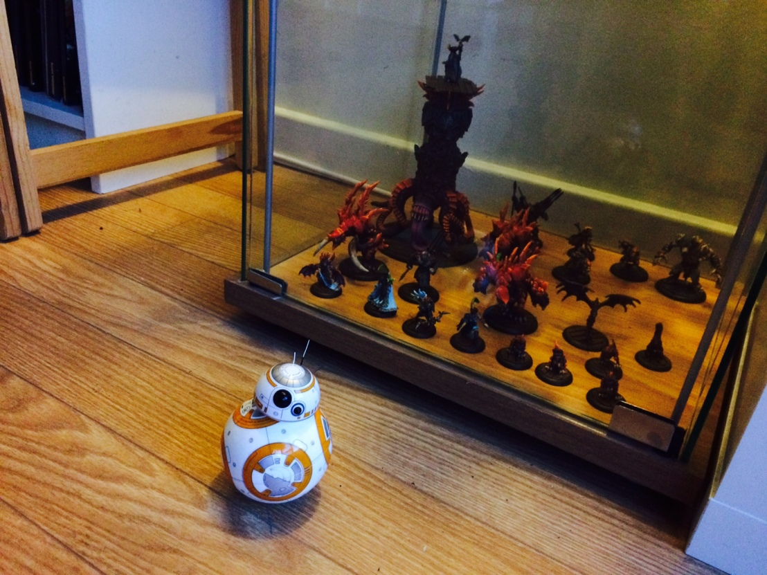 BB8 on patrol near my case