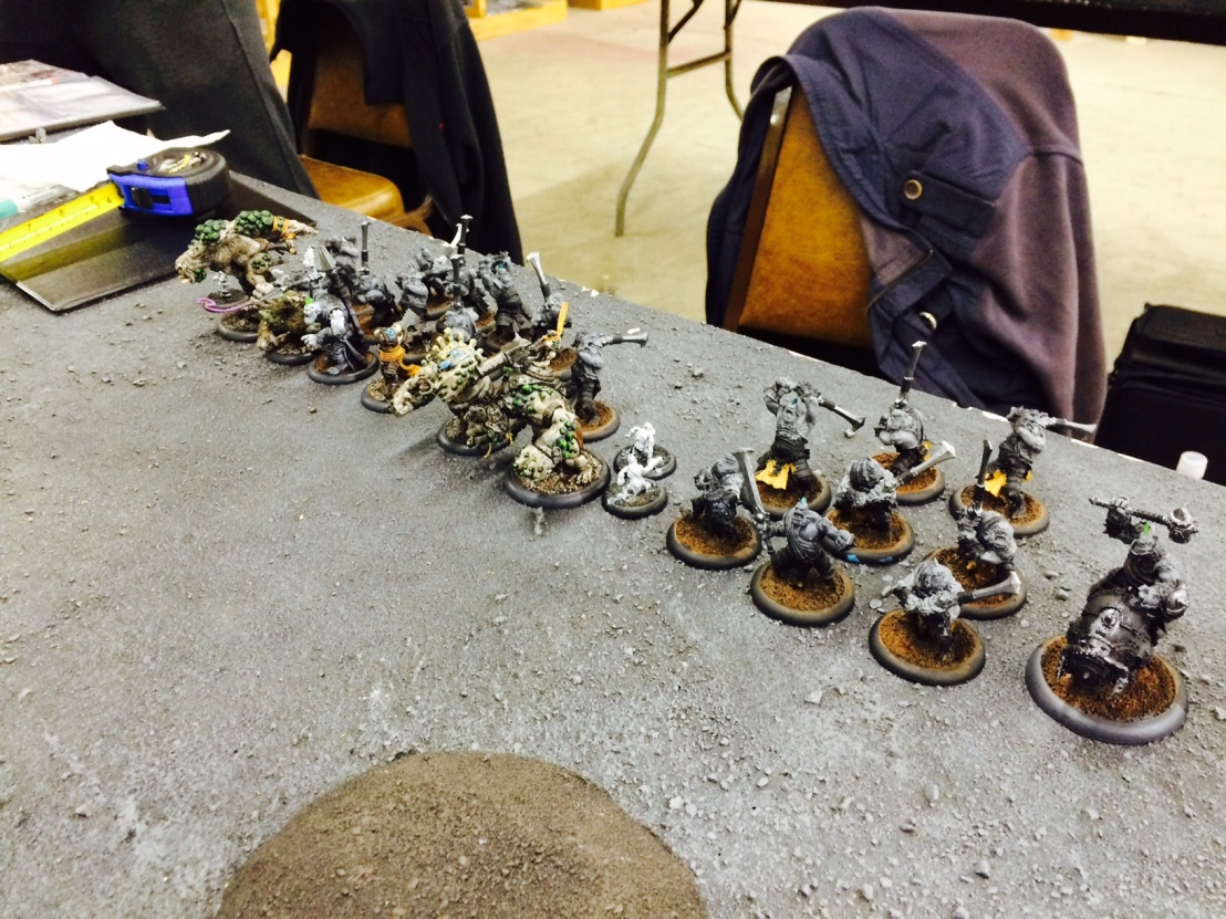 "Warmachine/Hordes: Team ""Third Round Bye"""