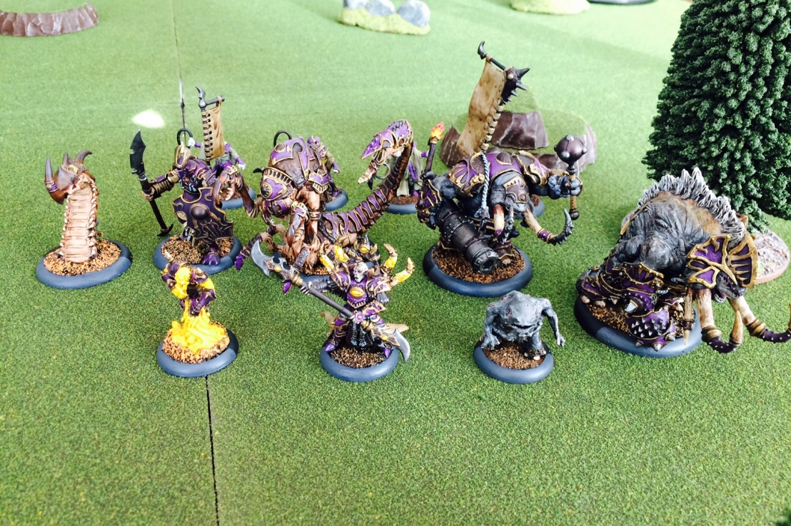 Warmachine/Hordes: The Goldun Ogruns