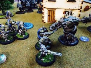 Storm Troll v Cygnar Storm Knights