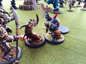 Troll Axer and Razorworm Hordes