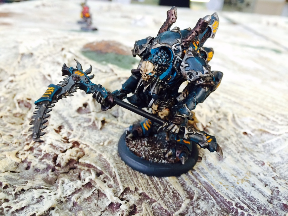 1 Cryx Lord Exhumator Scaverous Alternate Paint Scheme