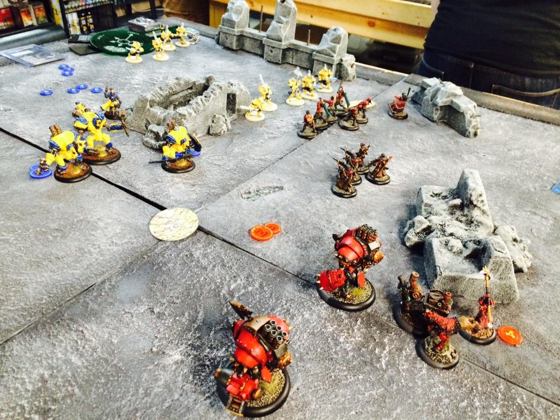 10 Khador vs Cygnar