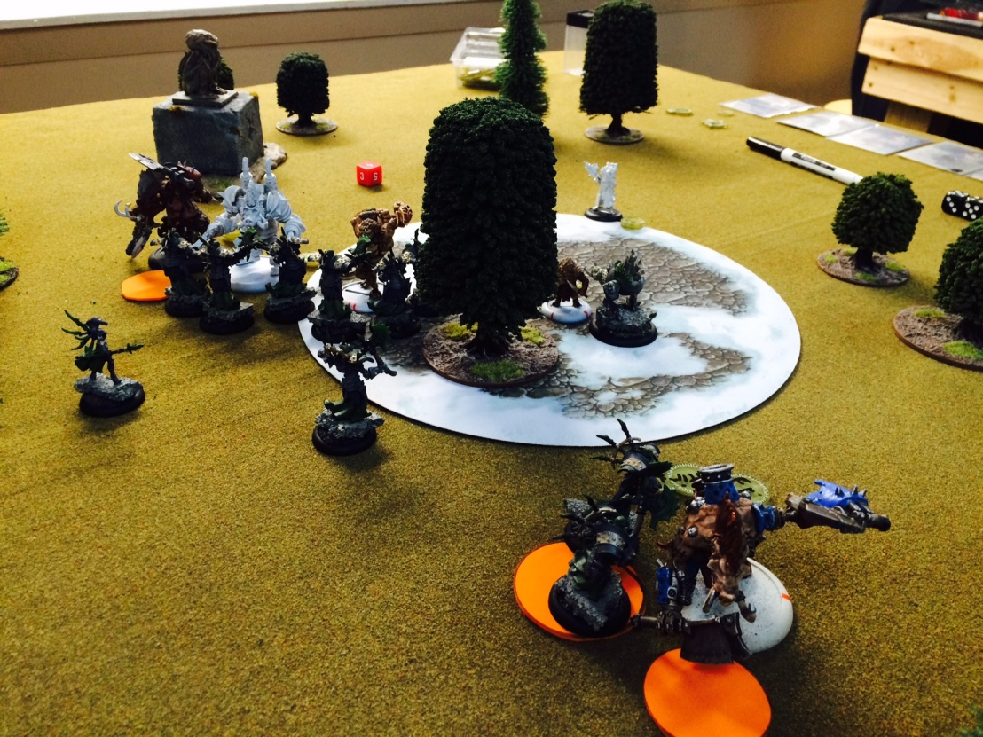 9 Cryx vs Thornfall