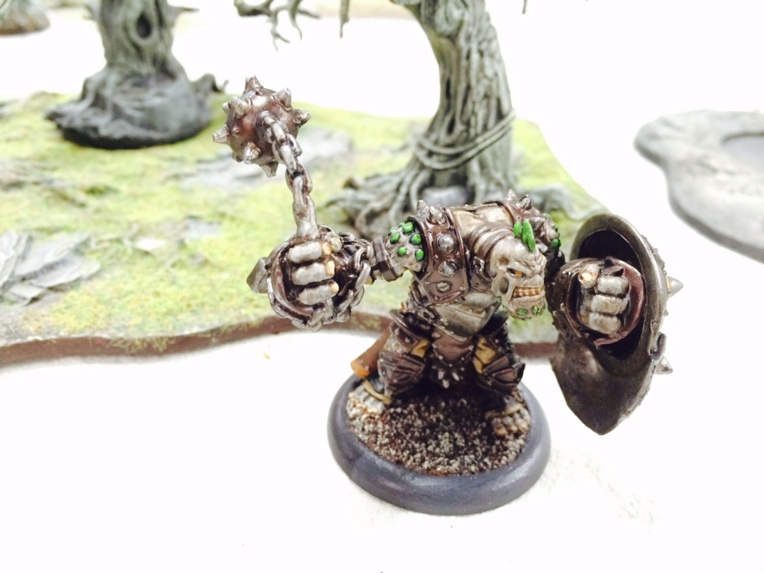 Warmachine Hordes Trollbloods Bouncer
