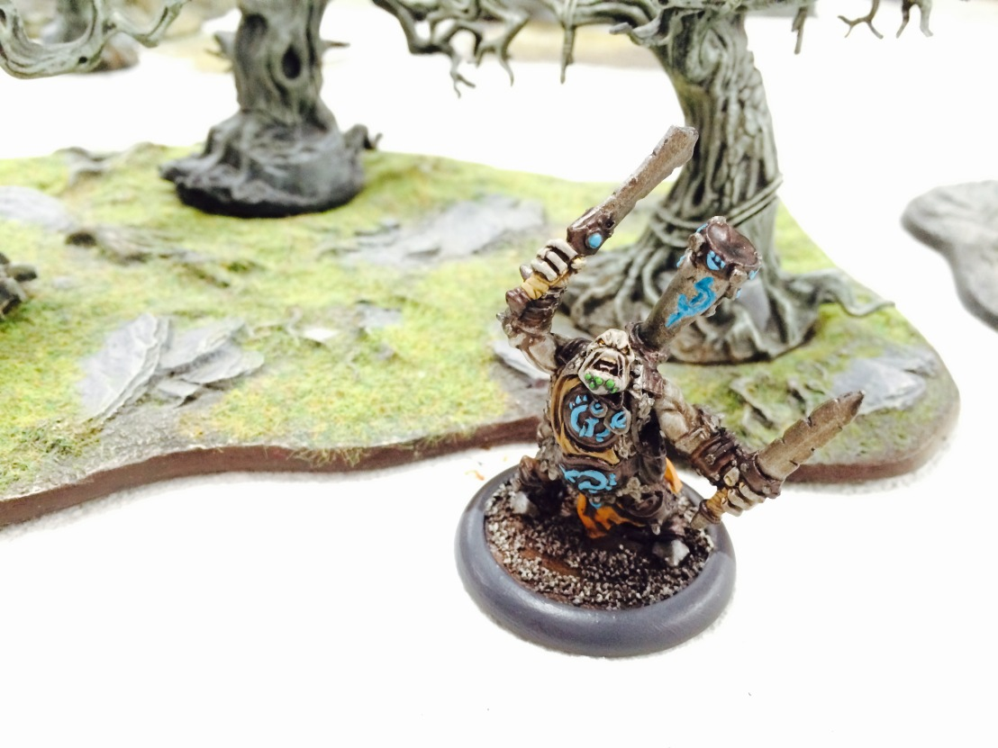 Warmachine Hordes Trollbloods Fell Caller Hero