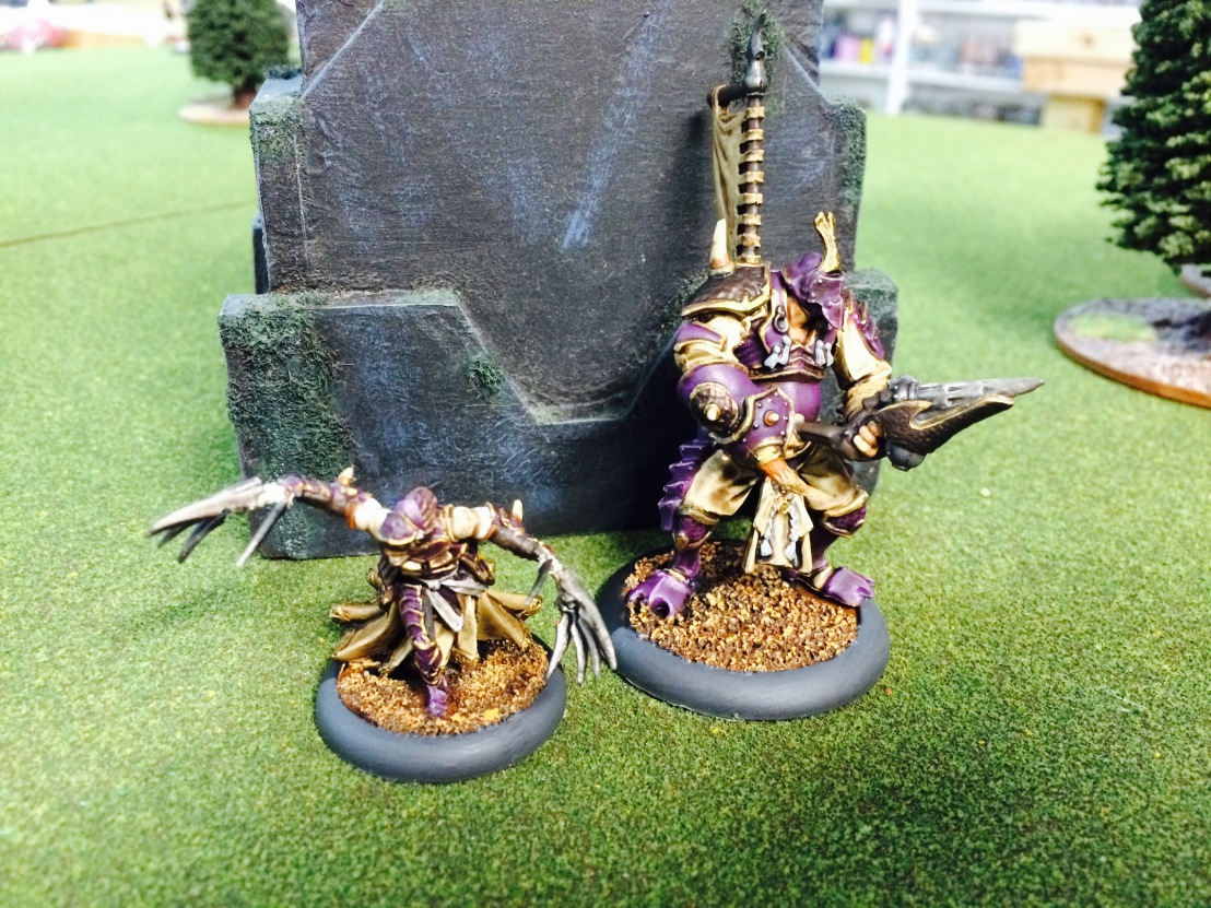 A pMorghoul and Cyclops Raider