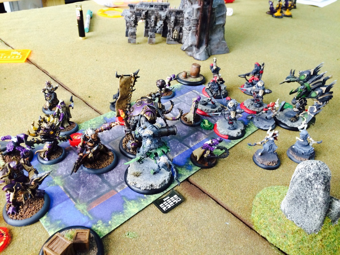 4 Cryx vs Skorne Scrum