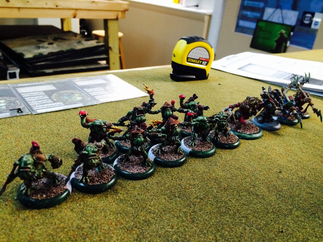 7 Company of Iron Minions