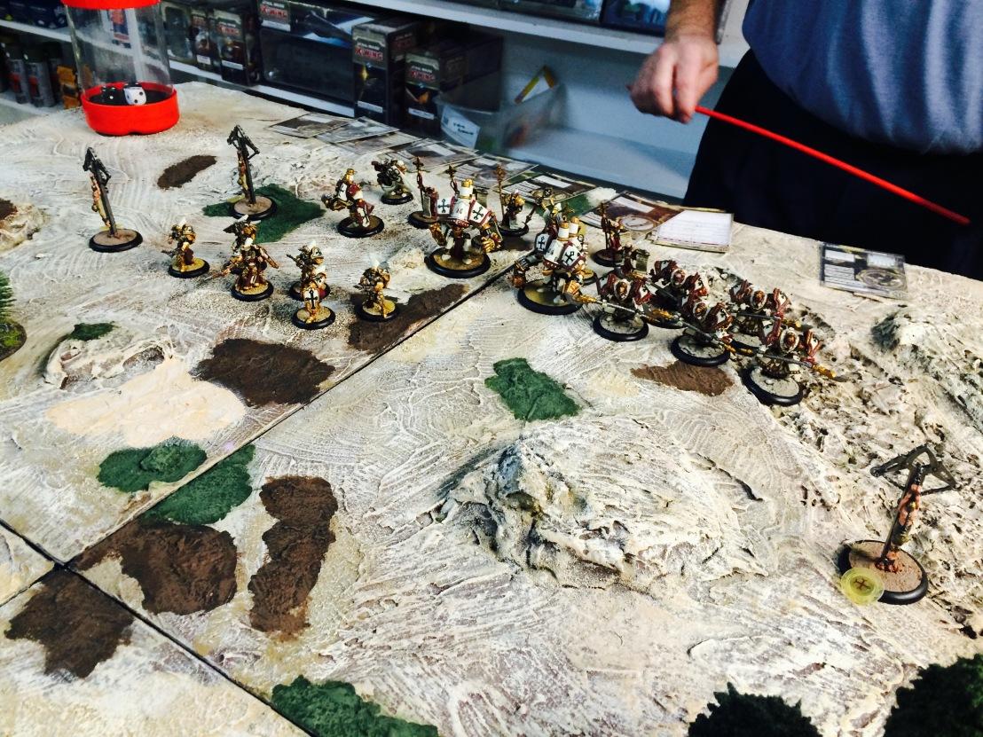 SKorne vs Menoth 1