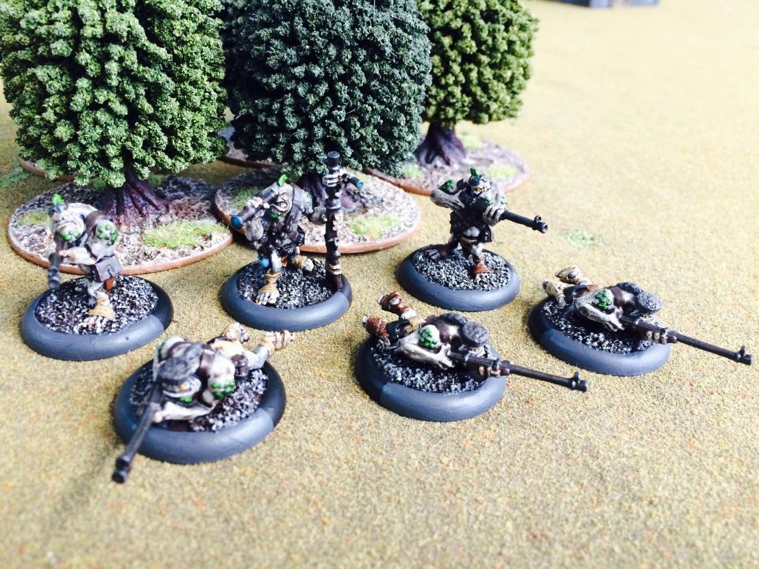 Trollbloods Pyg Bushwhackers