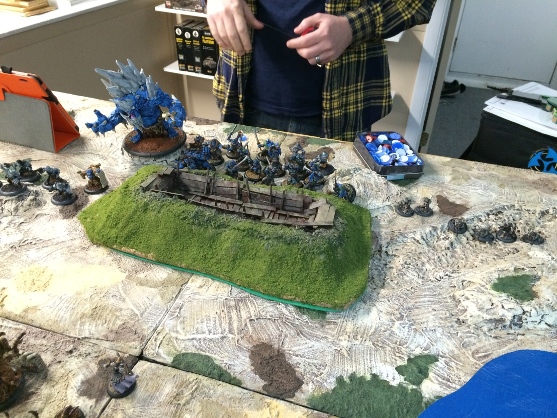 1 Company of Iron vs Trollbloods