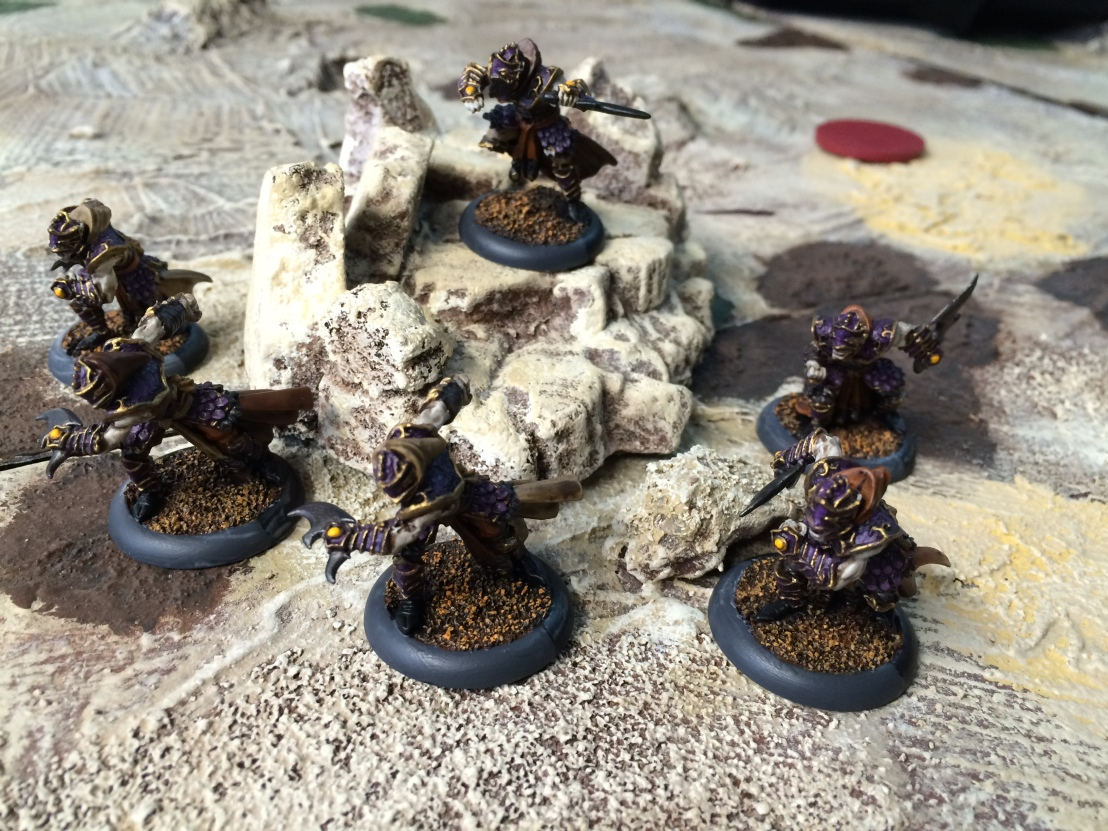 2 Skorne Paingiver Bloodrunners Unit