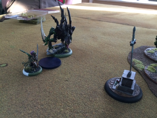 1 Saeryn and Rhyas Talons of Everblight versus Kaya