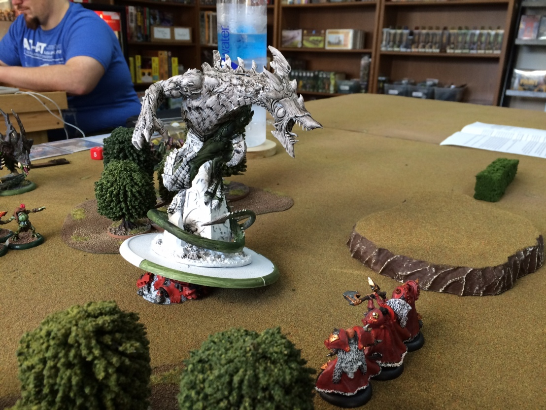 1 Thagrosh defends against Butcher2