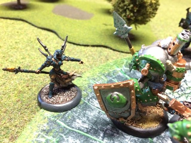 3 Deneghra vs Cygnar Lancer