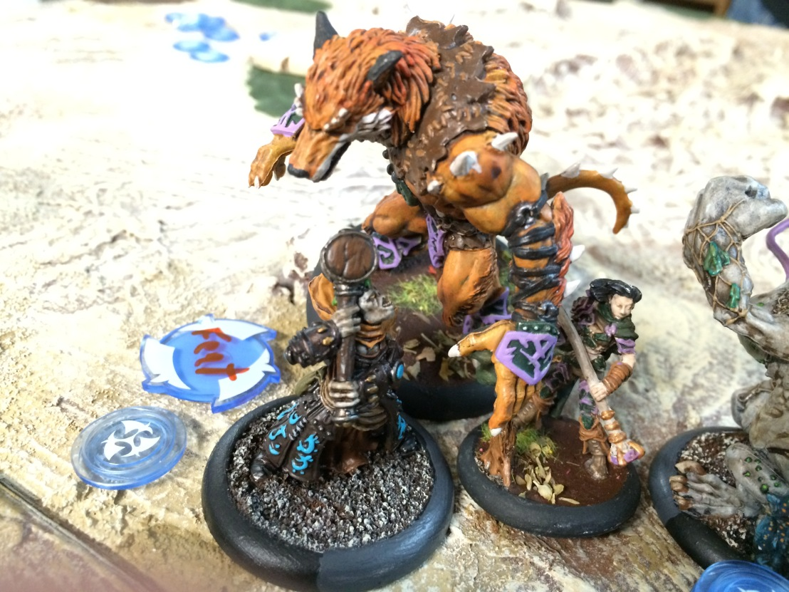 5 Trollbloods Grissel vs Circle Orboros Fox Theme