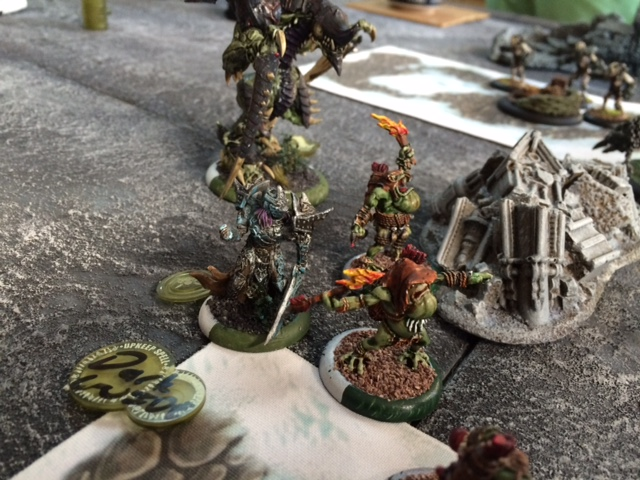 Converted Kallus Legion of Everblight vs Cryx