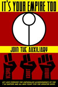 Tau Propaganda Poster