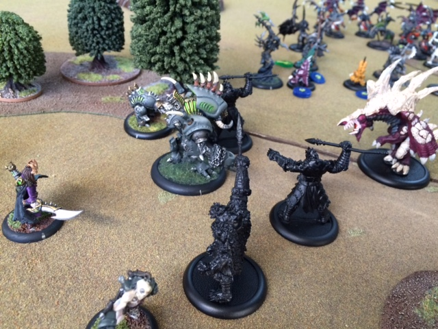 3 Cryx Seether vs Legion Carnivean
