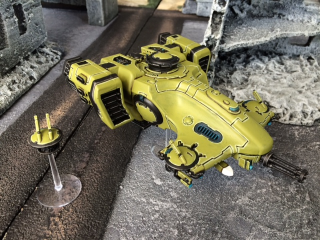 Tau Devilfish and Shield Drone
