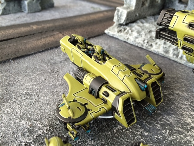 Tau Piranha with Fusion Blaster