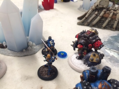 5 Journeyman End Khador Kodiak vs Major Beth Maddox
