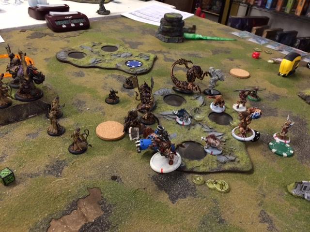 5 Skorne Xekaar vs Minions Arkadius