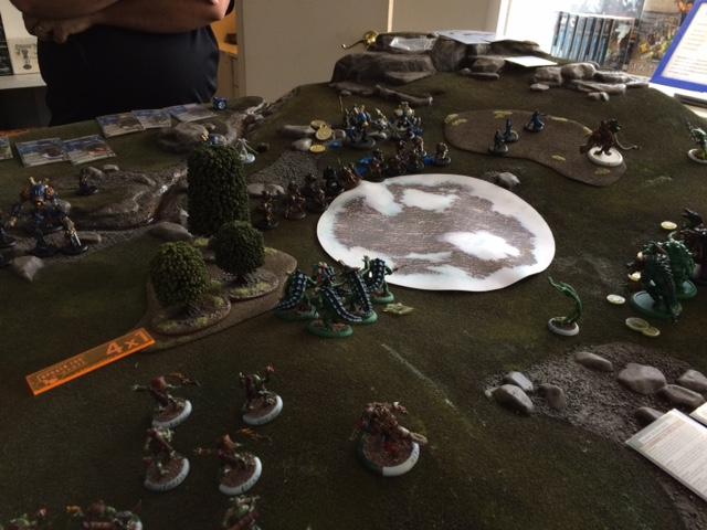 6 Minions versus Cygnar