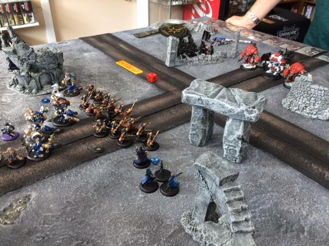 8 Cygnar vs Khador