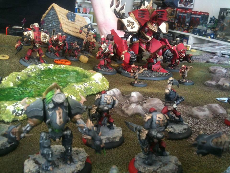 13 Protectorate of Menoth versus Cryx