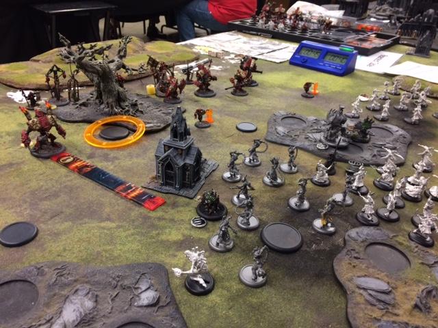 3 Protectorate of Menoth Harbinger vs Cryx Deneghra1