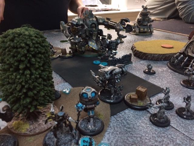 4 Convergence of Cyriss Lucant vs Mercenaries Rhulic Gorten