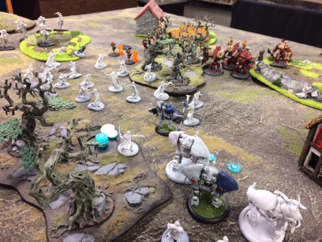 4 Protectorate of Menoth Harbinger vs Retribution of Scyrah Kaelyssa