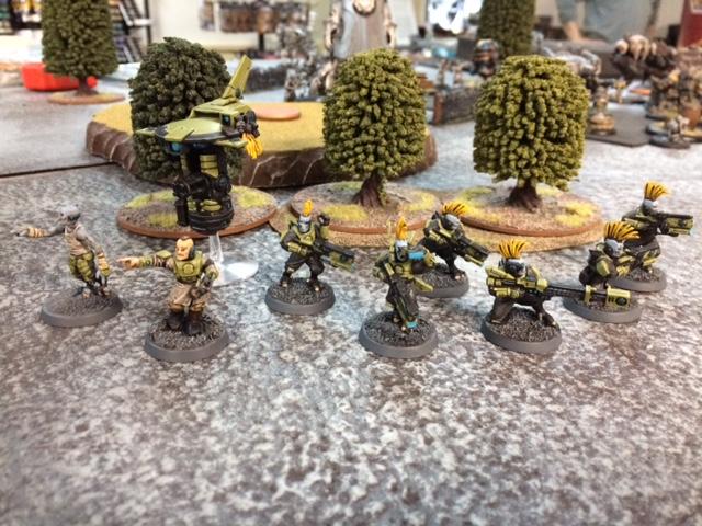 4 Tau Pathfinders Full Kill Team Shadow War Armageddon