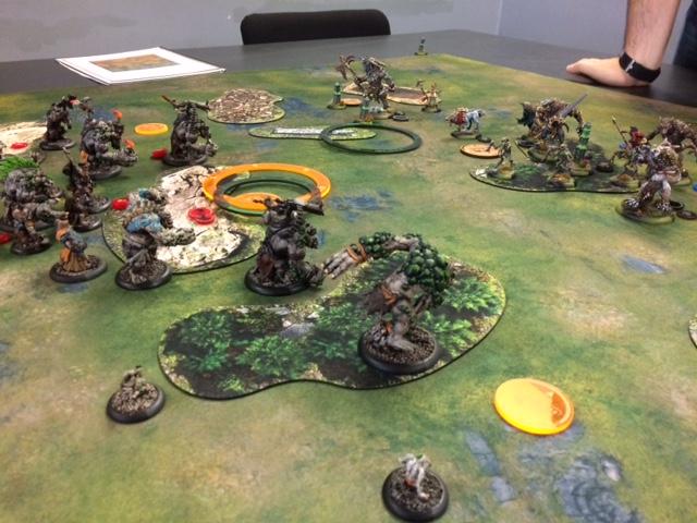 Trollbloods Hunters Grim vs Circle Orboros Kaya2