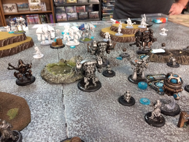 1 Convergence of Cyriss Axis vs Retribution Kaelyssa