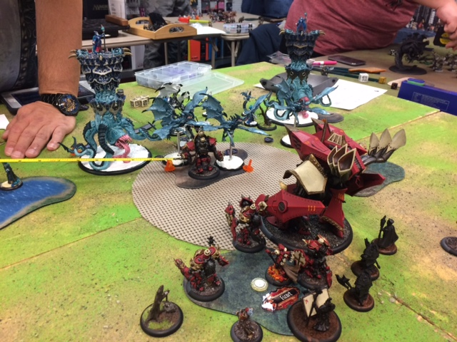 5 Protectorate of Menoth Feora2 vs Legion of Everblight Kryssa