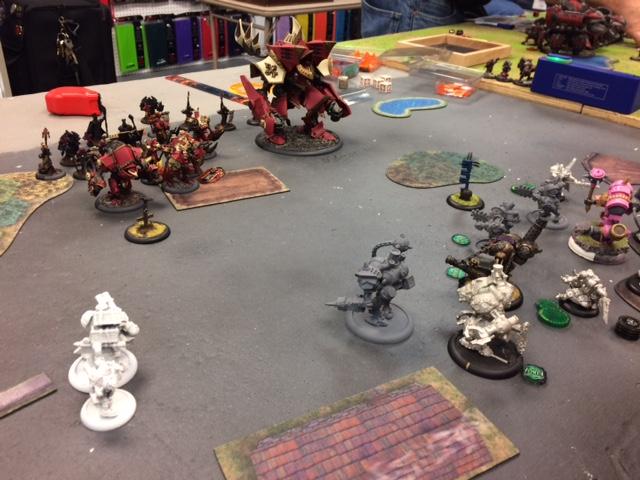 6 Protectorate of Menoth Feora2 vs Mercenaries Magnus2