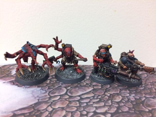 Genestealer Cult Behemoth Color Scheme Warhammer 40k Hybrids Purestrain Acolyte