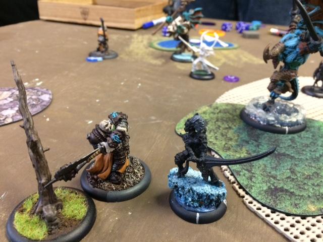2 Trollbloods Madrak2 vs Legion Saeryn and Rhyas