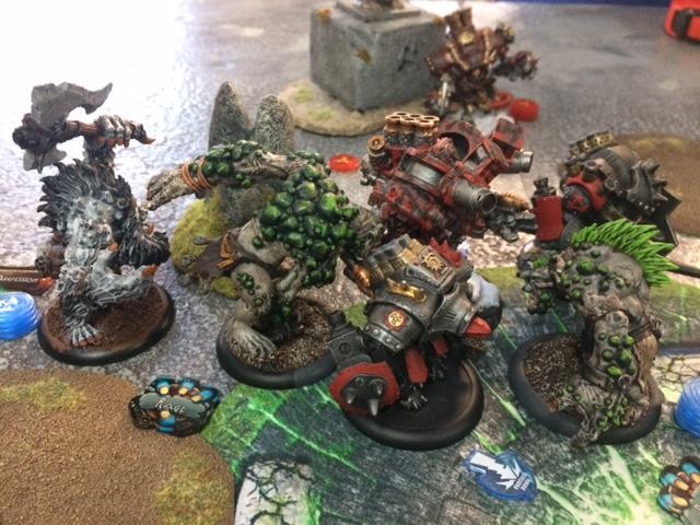 4 Trollbloods Doomshaper2 vs Karchev