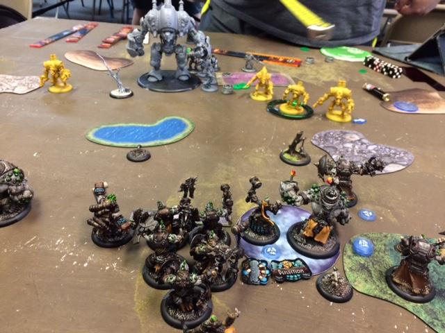 5 Trollbloods Grissel2 vs Cygnar Caine3
