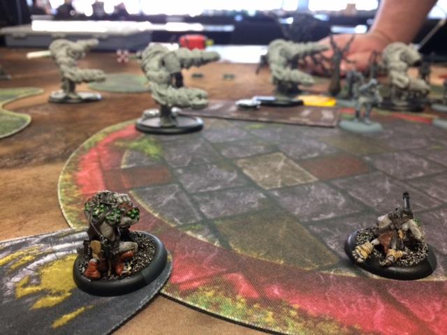 5 Trollbloods Grissel2 vs Exulon Thexus