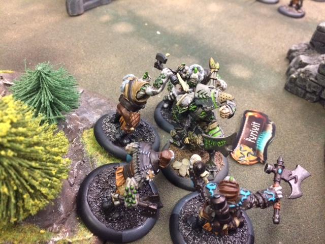 8 Trollkin Scouts vs Venethrax