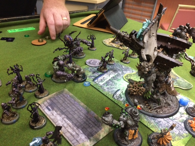 7 Trollbloods Sea King vs Exulon Thexus