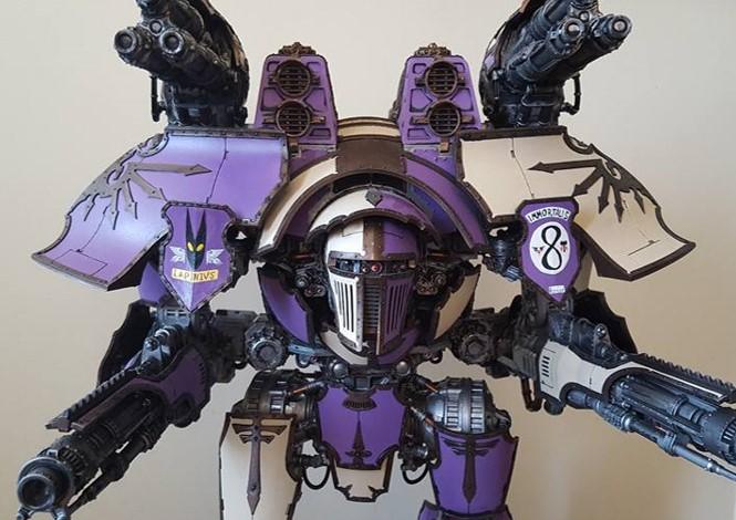 Lapinus Rex Warlord Titan